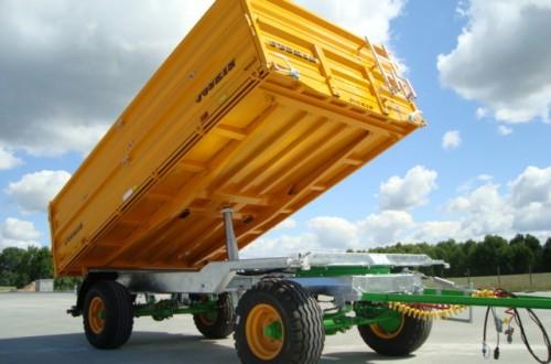 Innovaciones en remolques agrícolas
