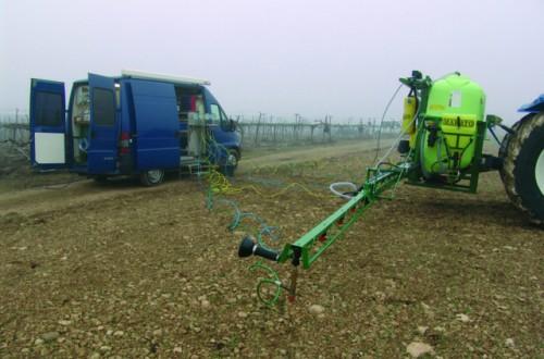 Situación actual de la inspección de los equipos de aplicación de productos fitosanitarios