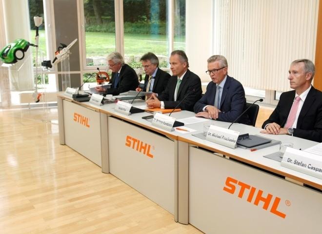El grupo Stihl bate un nuevo récord de facturación en 2014