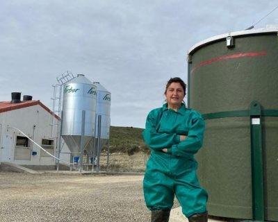 Inma Sarasa, ganadera oscense y ejemplo de mujer rural