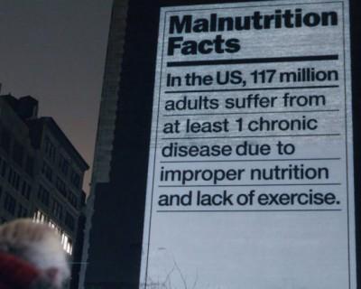 Dole muestra a los norteamericanos su mala alimentación