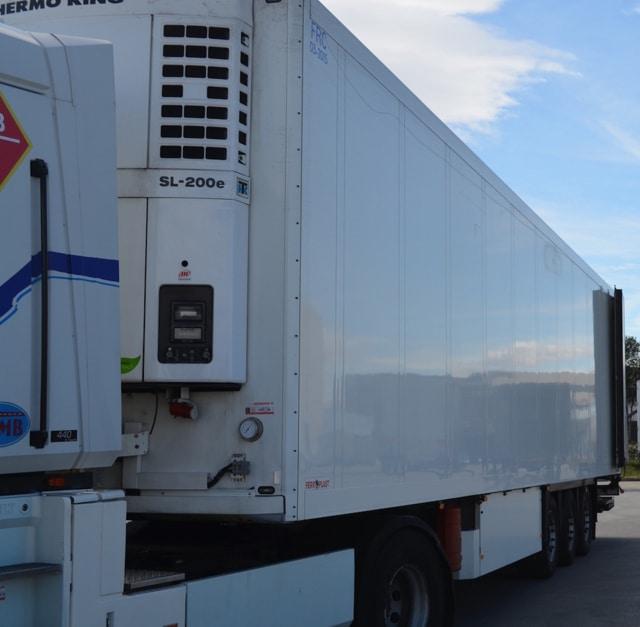 Multa de 8,8 millones de euros de la CNMC a 12 empresas de transportes frigoríficos de mercancías por carretera