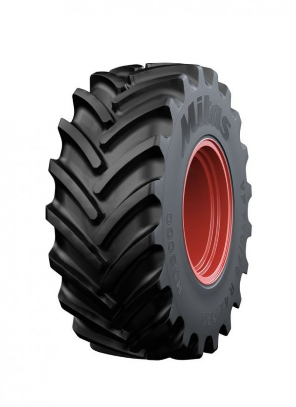 Nuevos neumáticos Mitas VF HC3000 para cosechadoras