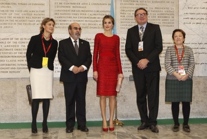 La Reina y el Papa unidos en su lucha contra el hambre. Por Jaime Lamo de Espinosa
