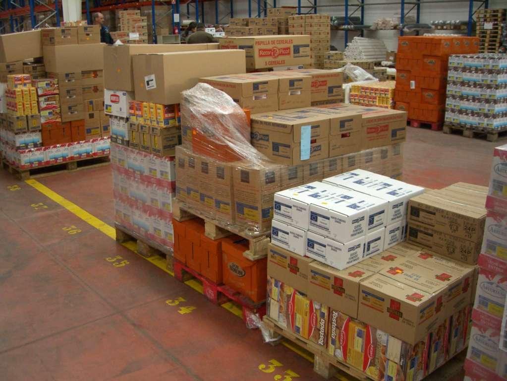 Reparto gratuito de 49 millones de kg para ayuda alimentaria