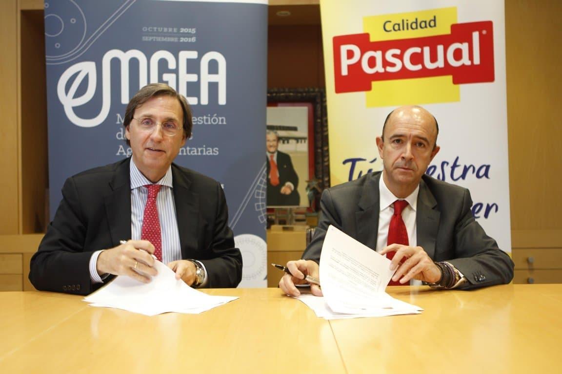 Pascual, patrocinador de la VI edición del máster MGEA