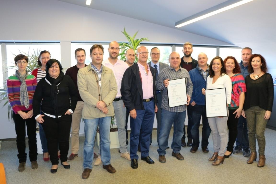 El Ciruelo, primera empresa murciana en conseguir la Certificación de Huella Hídrica y de Carbono