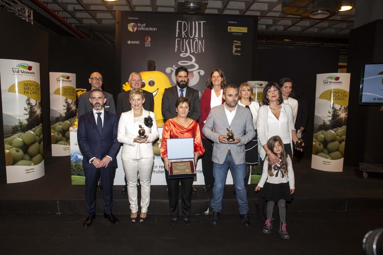 Manzanas Val Venosta entrega los Premios Golden Gold y presenta sus novedades
