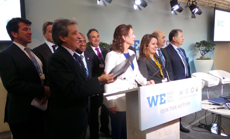 España se suma en la Cumbre de París al primer Pacto sobre el Agua y el Cambio Climático