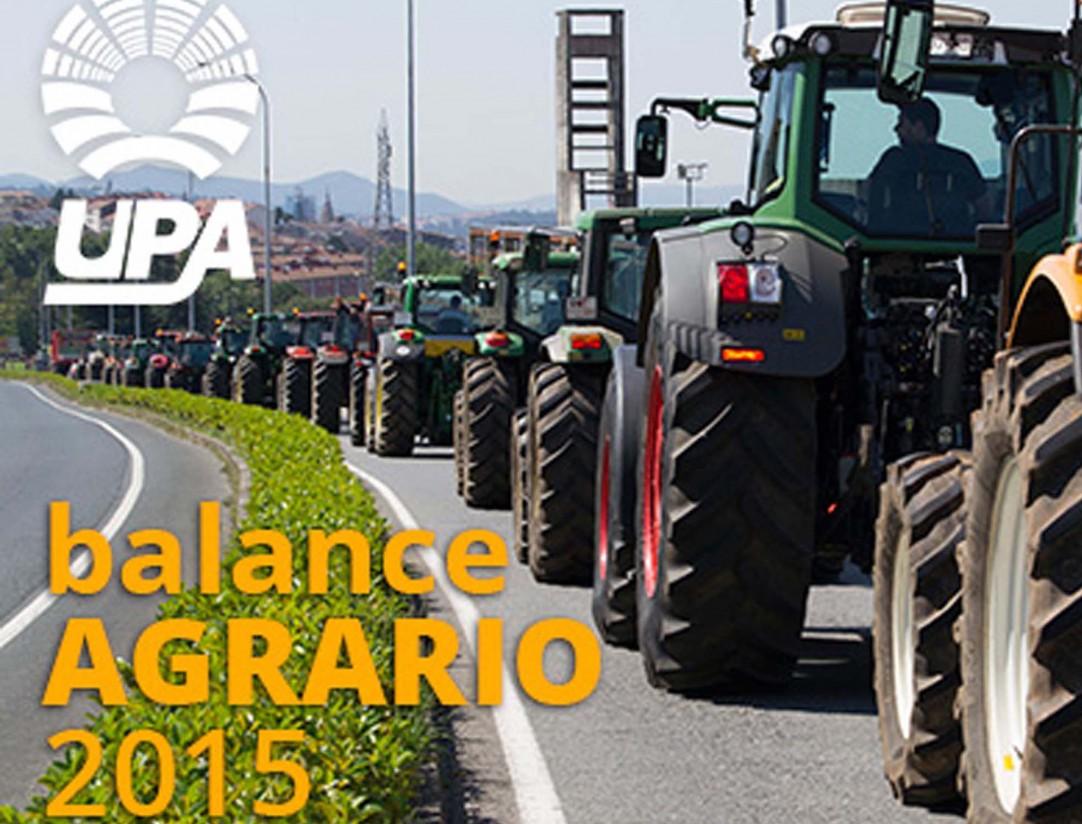 La crisis láctea y el estancamiento de la renta marcaron el año agrario 2015, según UPA