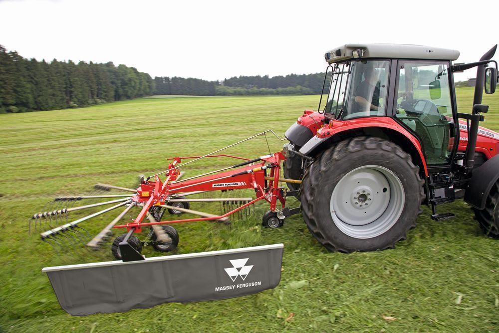 Massey Ferguson introduce su nuevo equipamiento para heno y forraje