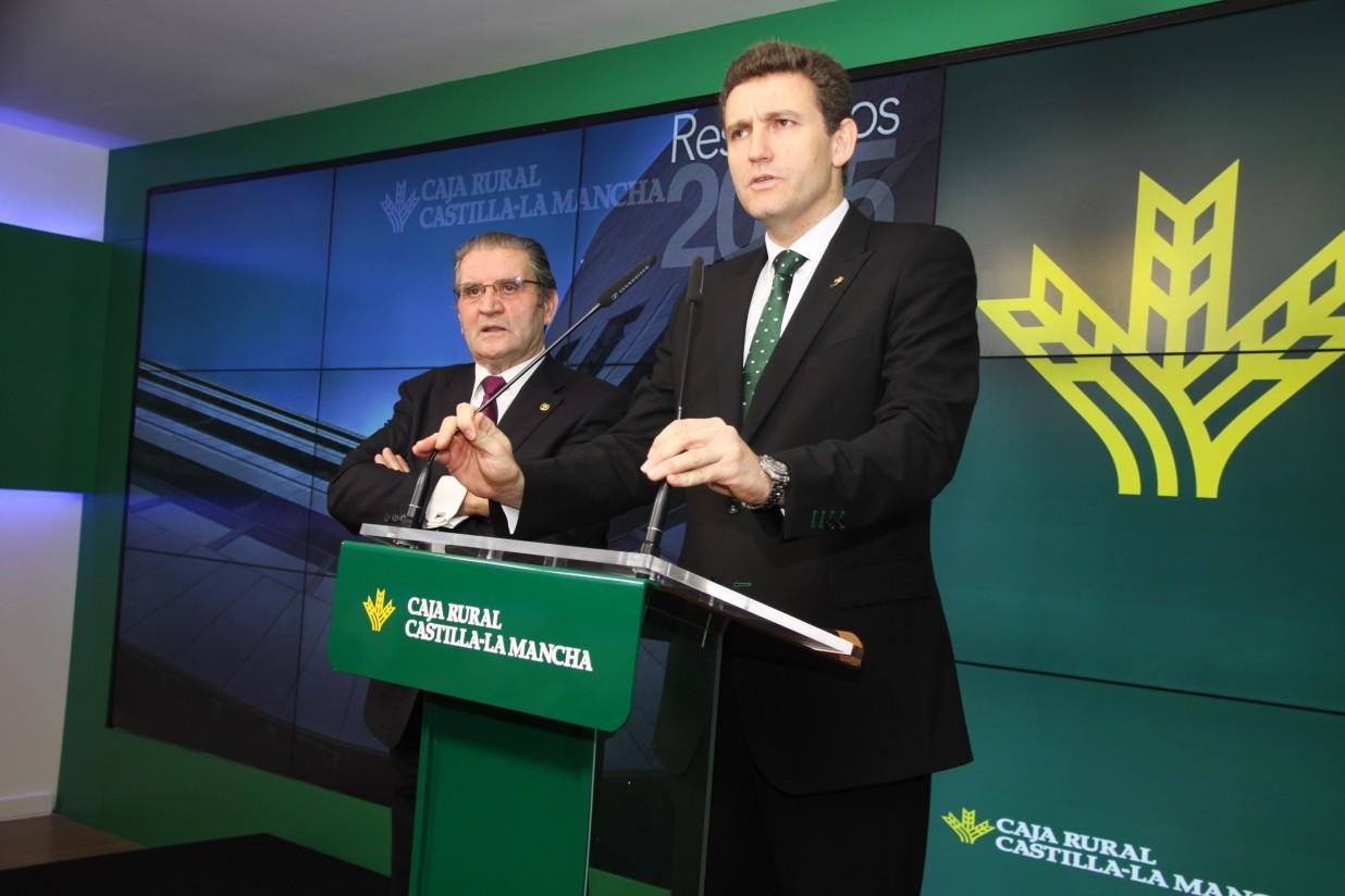 Caja Rural Castilla-La Mancha obtiene en 2015 los mayores resultados de su historia