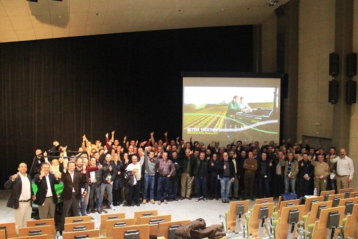 John Deere reúne a su red de concesionarios de España, Italia y Portugal para impulsar su servicio posventa