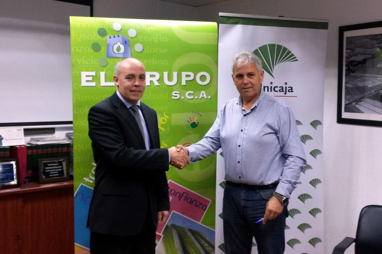Unicaja Banco y SCA El Grupo firman un convenio de colaboración