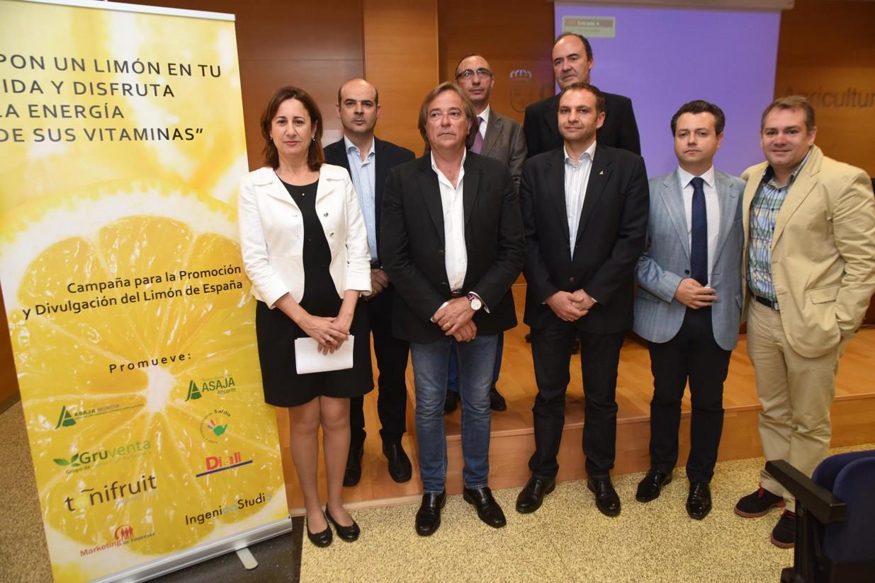 ASAJA Murcia presenta la campaña de promoción y divulgación del limón de España