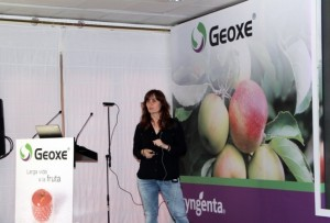 Pilar Plaza, técnico de poscosecha del IRTA (FILEminimizer)