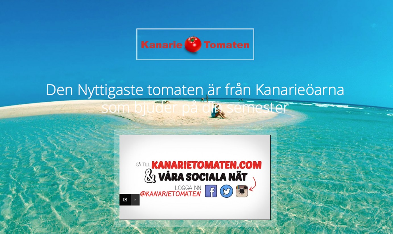 El tomate canario en Suecia se promociona con éxito en Suecia