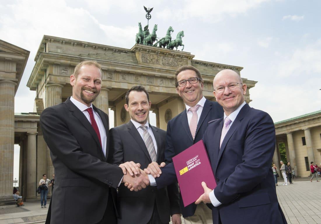Alemania, país asociado de Fruit Logística en la conmemoración de su aniversario