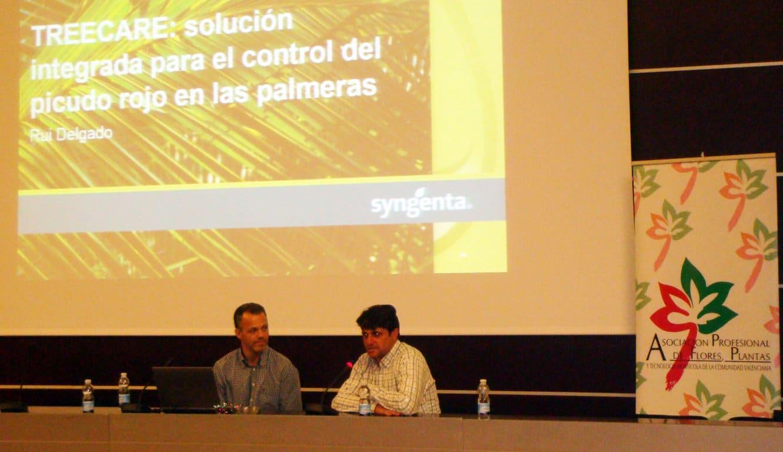 Syngenta presenta su estrategia TreeCare contra el picudo rojo de las palmeras