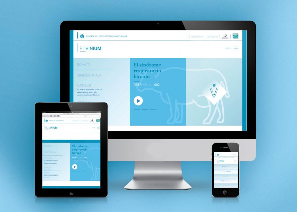 Nace Bovinium, una plataforma web didáctica y técnica en torno al SRB de Merial