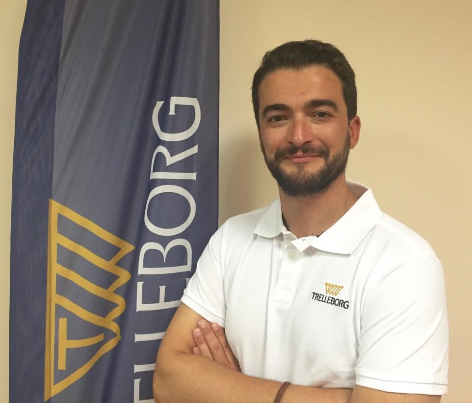 Filipe Brito, nuevo Marketing manager de Trelleborg para la Península Ibérica