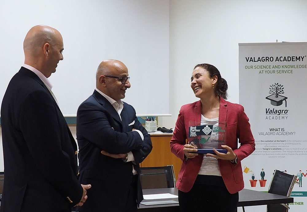 Verde Agrícola, nombrada por Valagro Best Partner 2015