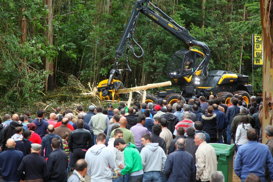 Galiforest Abanca 2016 acogerá cien demostraciones de maquinaria forestal