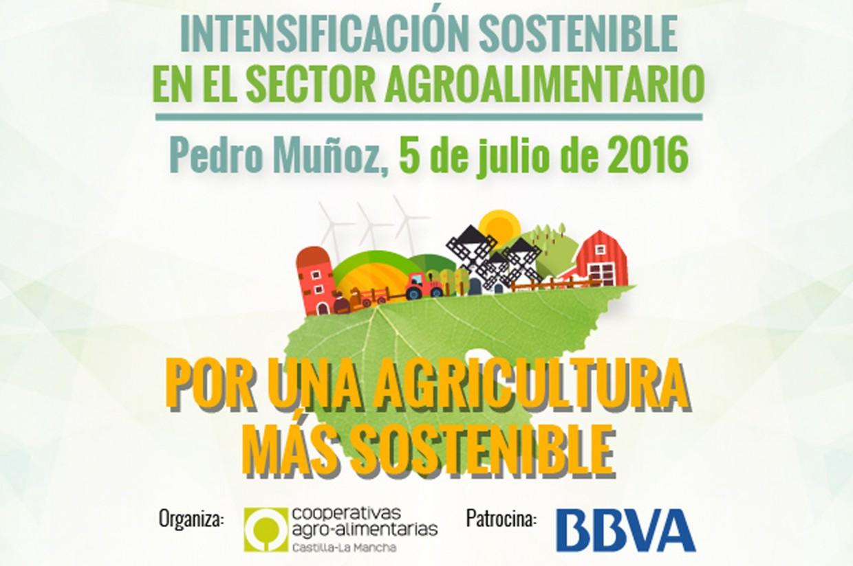 """Cooperativas de Castilla-La Mancha organiza la jornada """"Intensificación sostenible en el sector agroalimentario"""""""