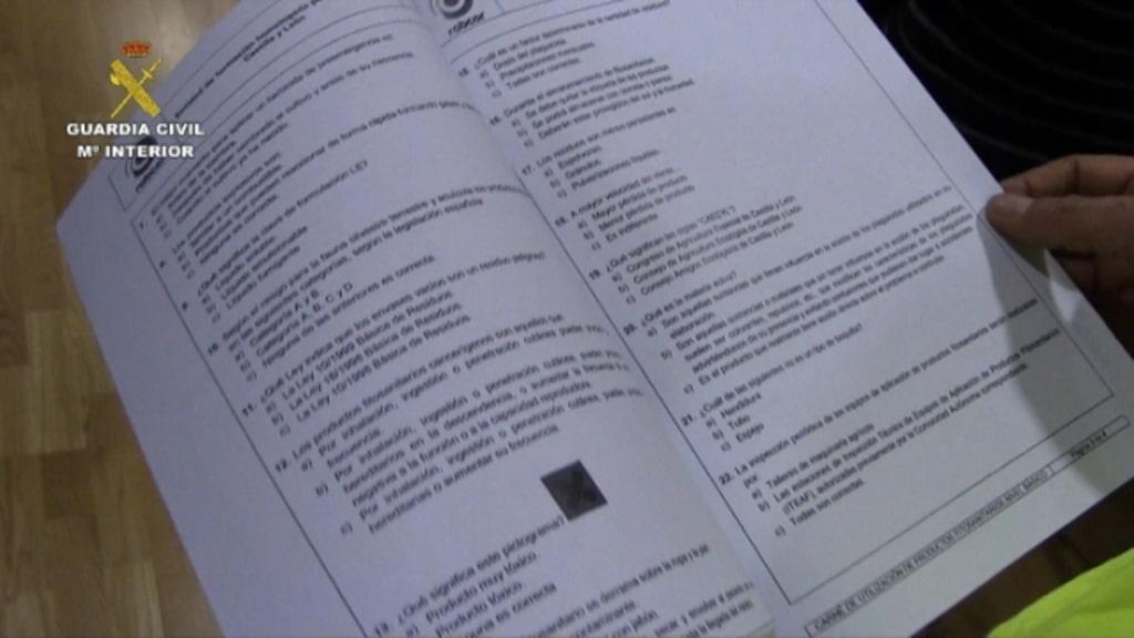 El Seprona investiga a 8 personas por cursos de formación irregulares para lograr el carnet de manipulador de fiitosanitarios