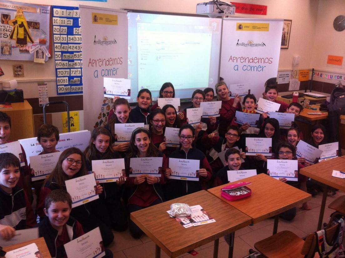 """Más de 25.000 escolares han participado en los talleres didácticos """"mediterraneamos"""""""