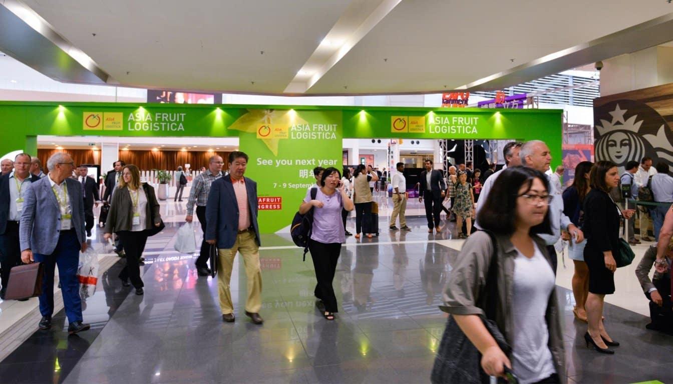 Asia Fruit Logistica sigue creciendo