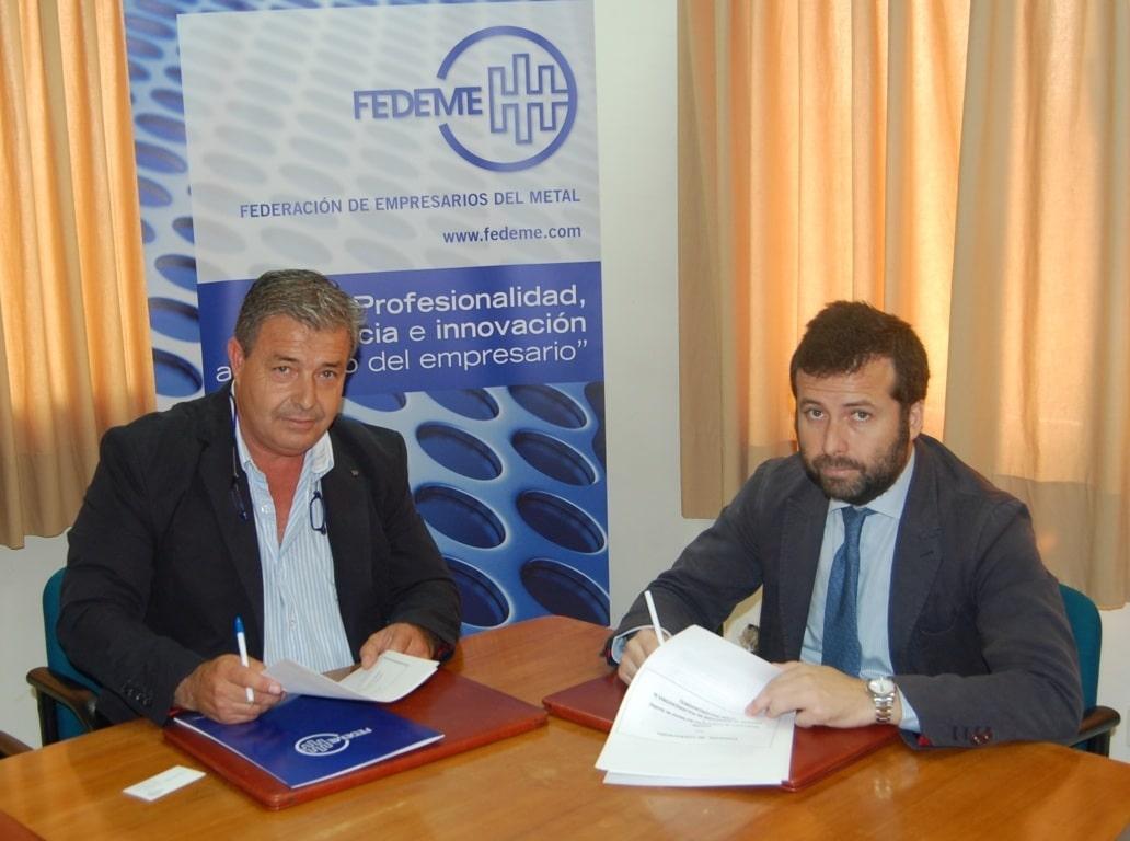 Fedeme firma un convenio para las inspecciones obligatorias de los equipos de aplicación de fitosanitarios