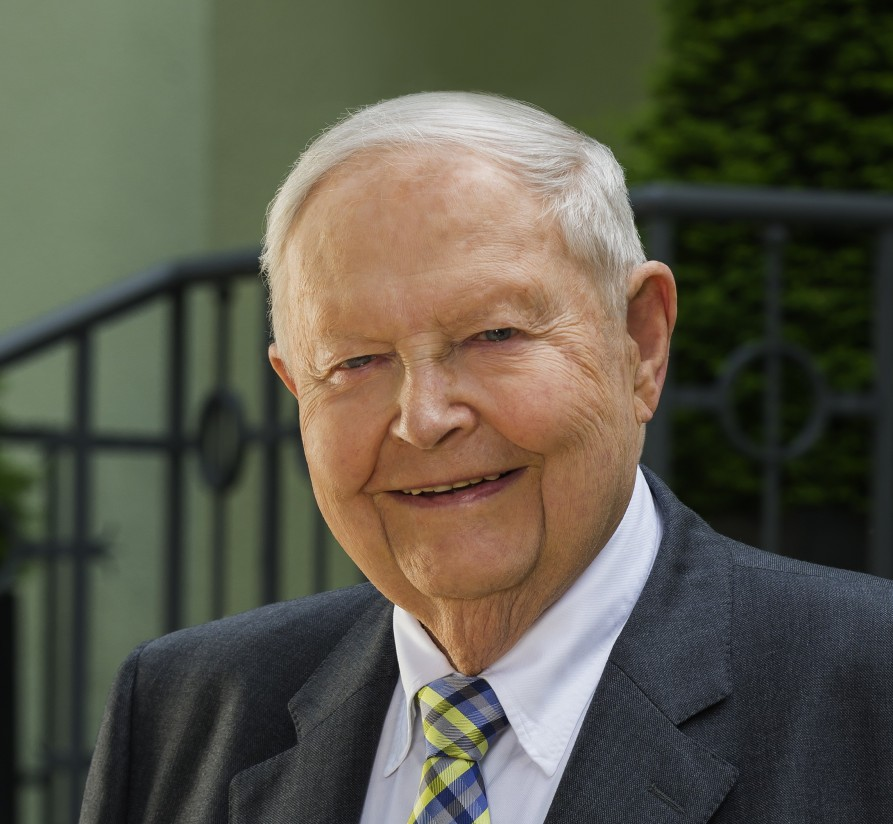 Helmut Claas cumple 90 años