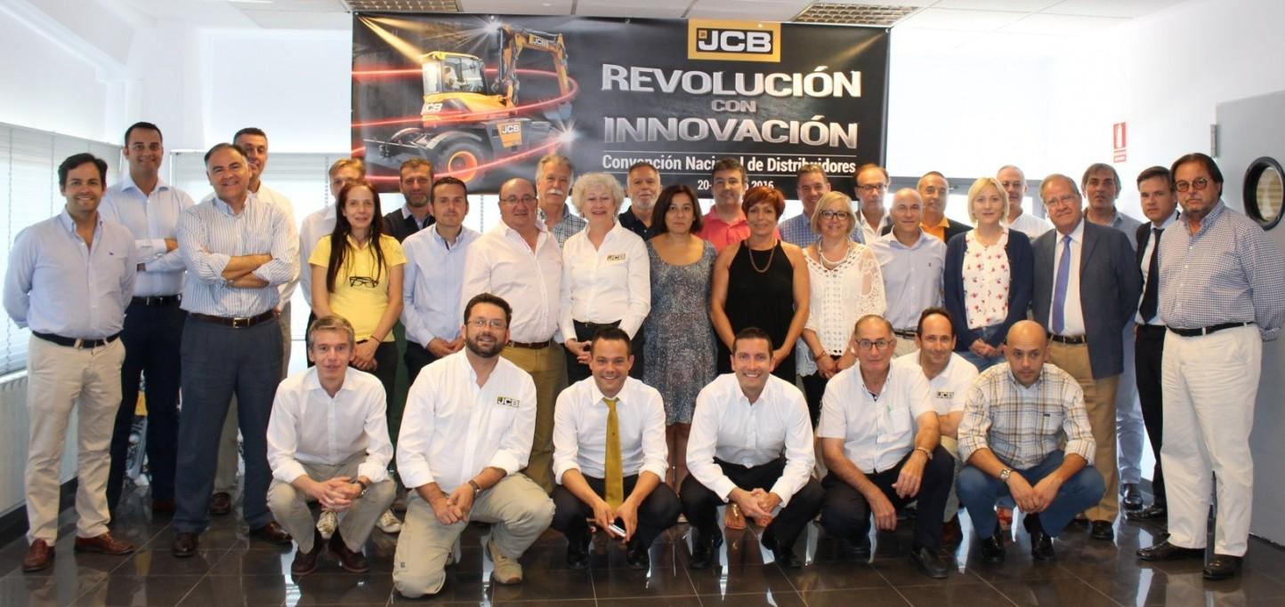 JCB España celebra su convención anual de distribuidores bajo el lema 'Revolución con innovación'