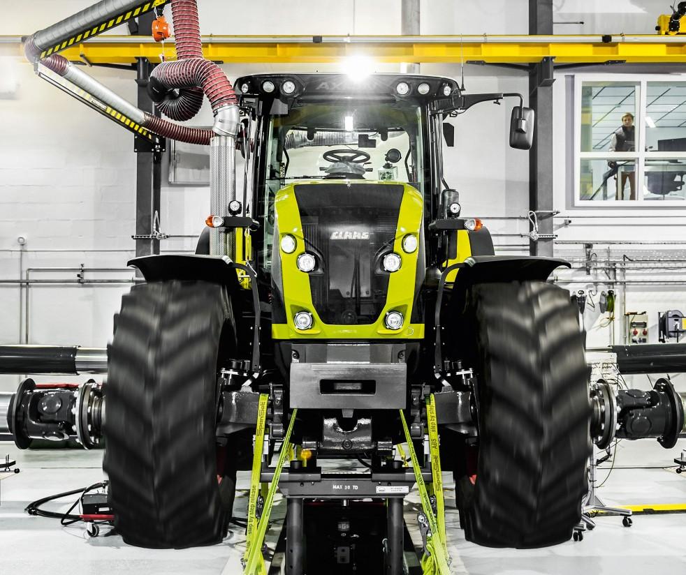 Las ventas de maquinaria agrícola nueva crecen un 5%