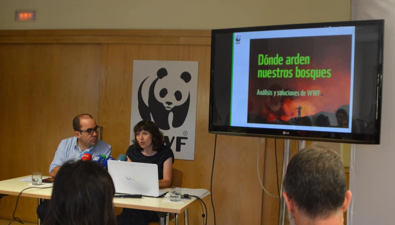 WWF presenta su informe 'Dónde arden nuestros bosques', apostando por medidas para la prevención de incendios