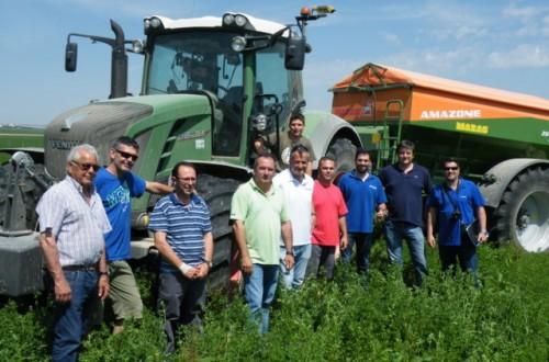 Análisis en campo del sistema CropSpec para la aplicación de fertilizantes