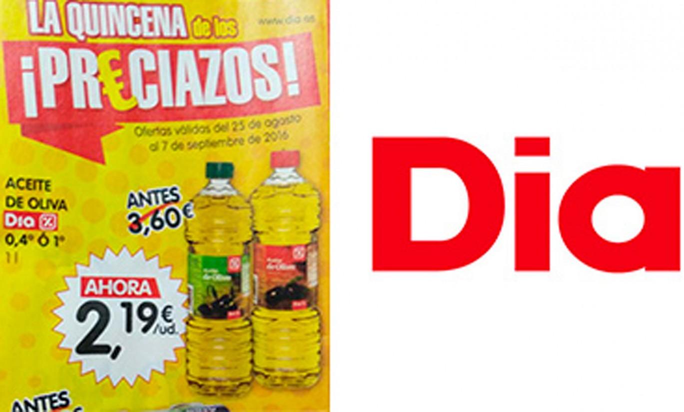 Nueva denuncia a DIA por venta a pérdidas y abusos con el aceite de oliva