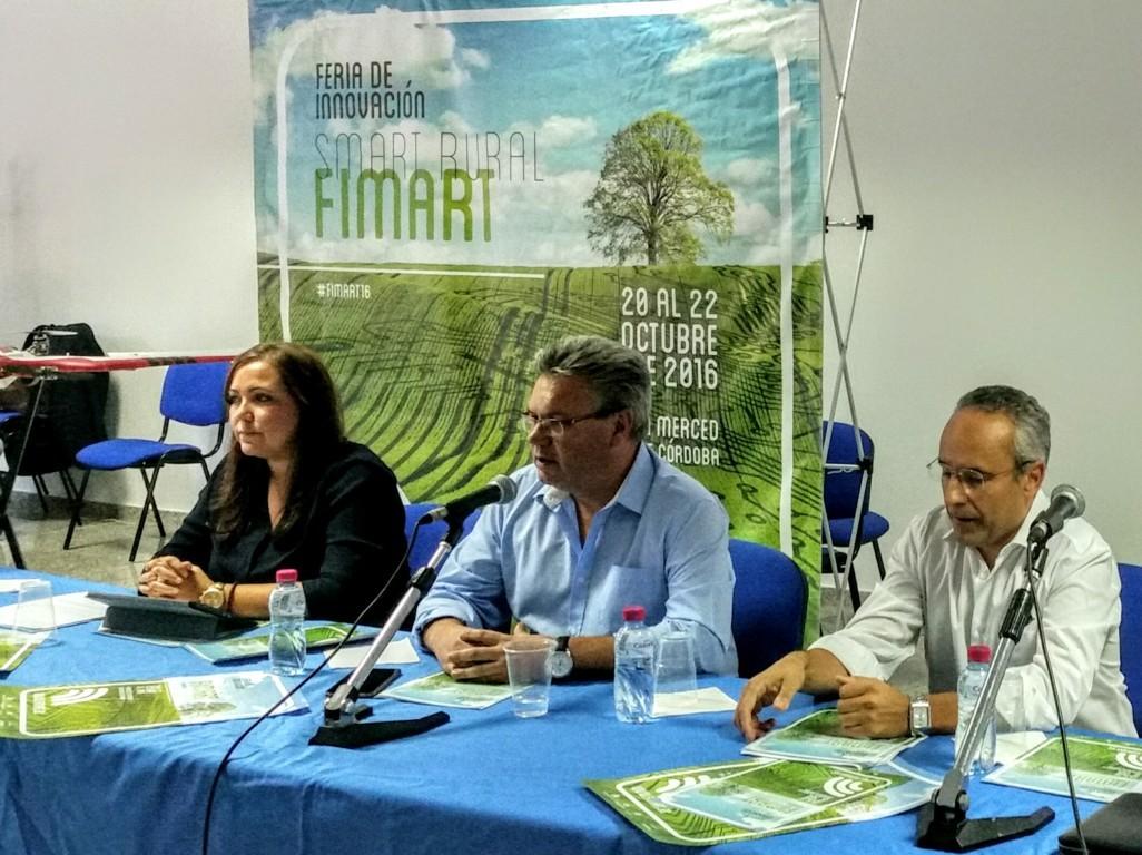 Fimart presenta en Puente Genil las posibilidades de aplicación de la tecnología al ámbito rural