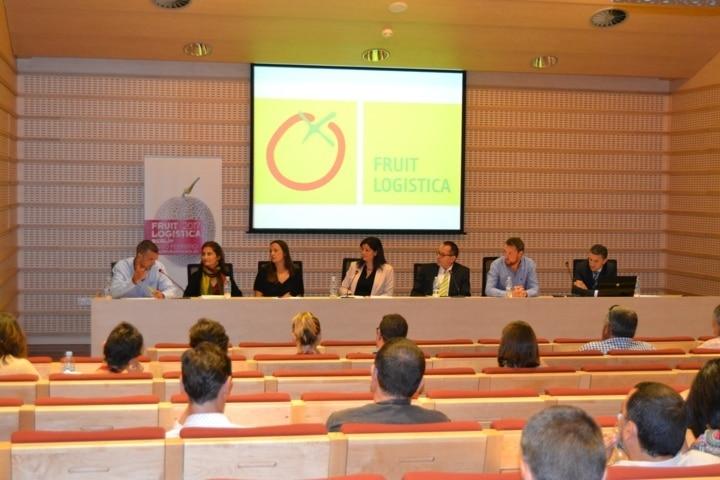 El futuro de la agricultura y la sostenibilidad, a debate en la jornada de Fruit Logistica en Lleida