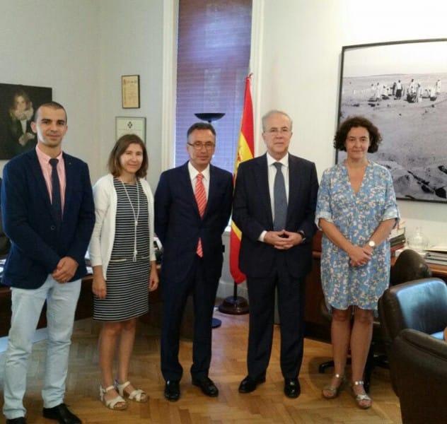 Reunión Embajada España en Egipto- Tecnova