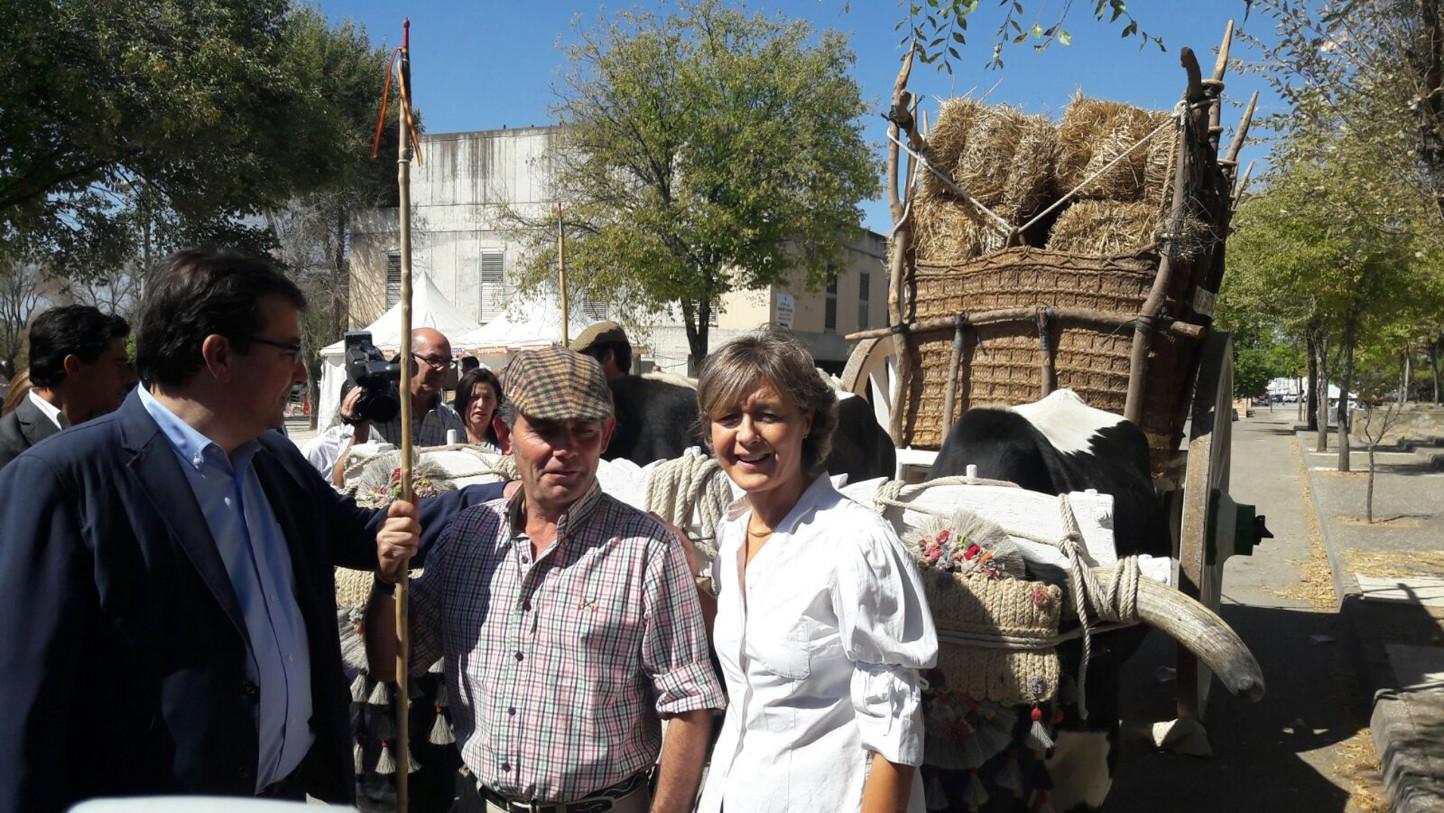 García Tejerina inaugura la Feria Internacional Ganadera de Zafra