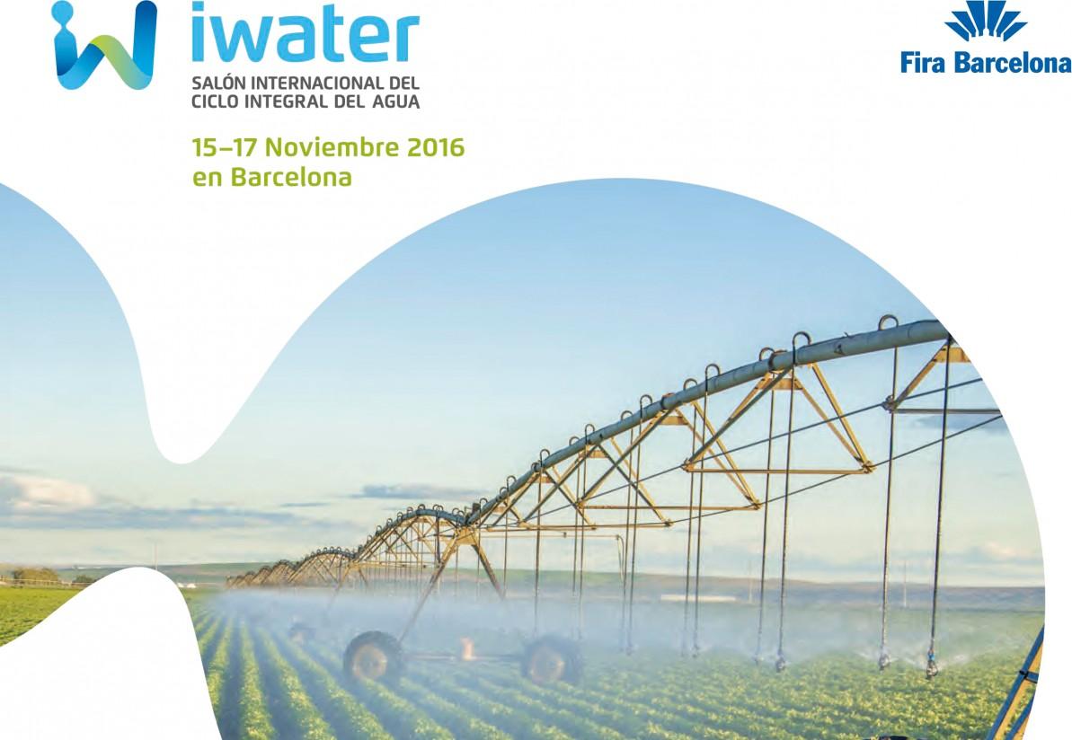 Iwater trae a Barcelona a expertos, entidades y profesionales internacionales del sector del agua