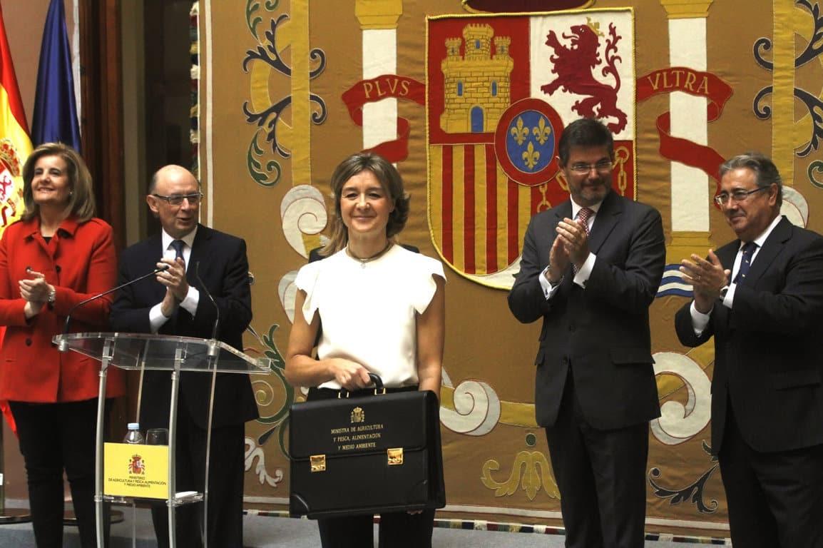 García Tejerina expone en su toma de posesión los numerosos retos de futuro de su departamento