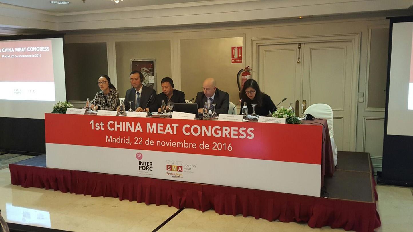 Madrid acoge el I Congreso Hispano-Chino del Sector Cárnico