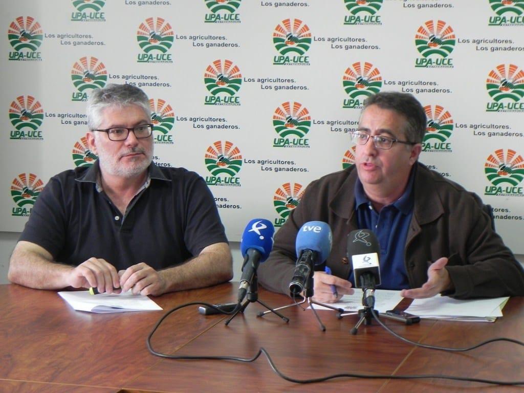 Sorpresa y estupor por la detención de varios dirigentes de UPA-UCE Extremadura