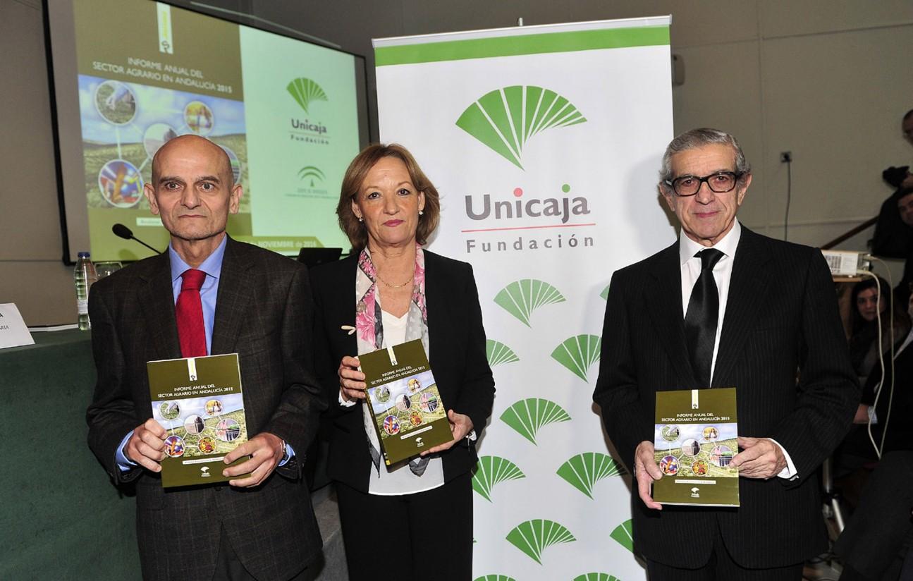 Fundación Unicaja publica su tradicional informe anual sobre el sector agrario andaluz