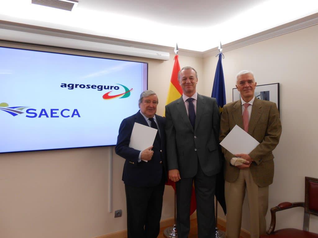 SAECA y Agroseguro mejoran las condiciones de acceso al pago fraccionado de las primas de los seguros agrícolas