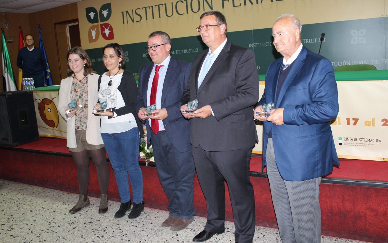 Francisco Aragón, galardonado a título póstumo con el Premio Especial en los XVI Premios Agroganadera