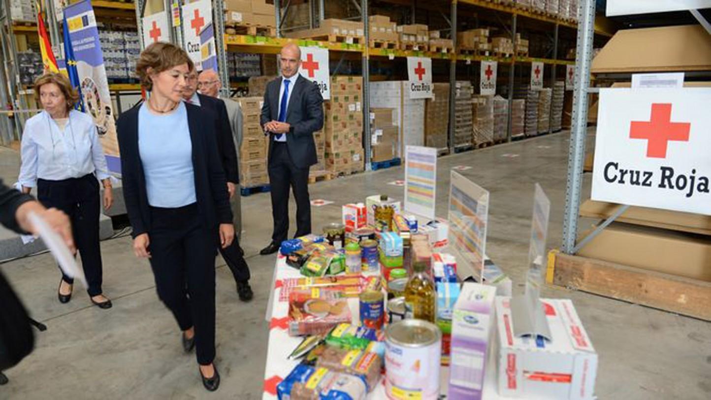 Autorizada la contratación de alimentos para las personas más desfavorecidas por valor de 95 M€